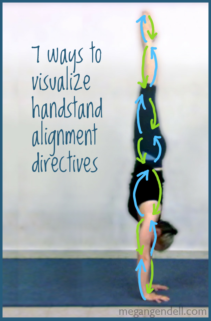 handstand alignment directives